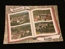Souvenir De Brindas Cpm - France
