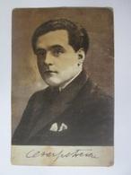 Cezar Petrescu,Romanian Writer & Journalist,unused Postcard With Autograph From The 20s-Colectură 10 Lei Iași - Romania