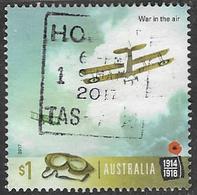 Australia 2017 World War One 1917 $1 Sheet Stamp Type 2 Good/fine Used [39/31910/ND] - 2010-... Elizabeth II