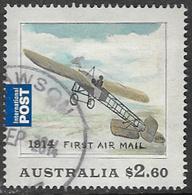 Australia 2014 First Airmail Flight $2.60 Good/fine Used [34/29106/ND] - 2010-... Elizabeth II