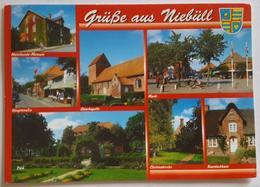 Luftkurort NIEBULL - Nordfriesland - Grusse Aus Niebull - Vg G2 - Nordfriesland