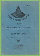Faro - 4 Relatórios E Contas Dos Anos De 1942, 1946, 1947 E 1948 - Portugal