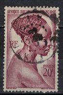 A  E  F         N°  YVERT    225     OBLITERE       ( O   1/ 25 ) - A.E.F. (1936-1958)