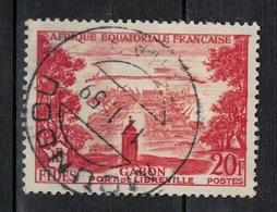 A  E  F         N°  YVERT    235      OBLITERE       ( O   1/ 28 ) - A.E.F. (1936-1958)