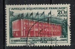 A  E  F         N°  YVERT    242     OBLITERE       ( O   1/ 29 ) - A.E.F. (1936-1958)