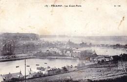 CPA - 76 - FECAMP - Les Avant-Ports - écrite - 2 Scans - Fécamp