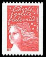 France Roulette N° 3418 ** Luquet -> Marianne Du 14 Juillet Le TVP Rouge -> RF - Rollen