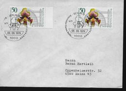 ALLEMAGNE   BERLIN  FDC 1979  Fleurs Orchidées - Orchideen