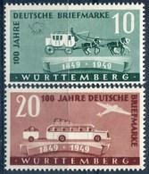 Wurtemberg - Y&T  N° 49-50 ** - Zona Francese
