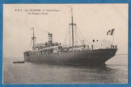 """Cargo  """" Amiral Ponty """" Des Chargeurs Réunis Au HAVRE  ( Très Très Bon état) Y U 304 - Commerce"""