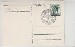 P 268 Blanko Gestempelt NÜRNBERG / Geburtstag Des F.. - Stadt Der Reichsparteitage - Briefe U. Dokumente