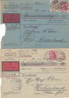 2 Nachnahmekarten Aus CLEVE 12.8.05 Und FLENSBURG 2.3.05 Nach Haberslund / Nordschleswig - Cartas