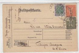 (Feldpost) Karte LEONBERG 13.9.22 Nach Tübingen - Briefe U. Dokumente