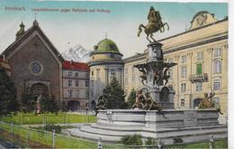 AK 0150  Innsbruck - Leopoldsbrunnen Gegen Hofkirche Und Hofburg / Verlag Redlich Um 1920 - Innsbruck