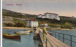 AK - Kroatien - Crikvenica - Am Steg Des Hotel Therapia - 1929 - Kroatien
