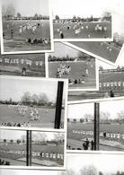 19 PHOTOS RUGBY 1/2 FINALE CHAMPIONNAT DE FRANCE 1963 MONT DE MARSAN - LOURDES   2 SCANS - Rugby