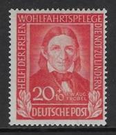 GERMANY FEDERAL 1949  Nº 5 - Neufs