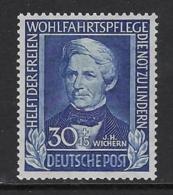 GERMANY FEDERAL 1949  Nº 6 - Neufs