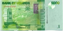 5.000 SHILLINGS 2010 - Ouganda