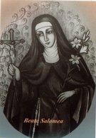 SANTINO Image Pieuse Image Religieuse Holy Card  BEATA SALOMEA  - PERFETTO - Religion & Esotericism
