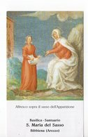 SANTINO Image Pieuse Image Religieuse Holy Card  MADONNA DI BIBBIENA PERFETTO  STORIA DEI BACCELLI CON SANGUE - Godsdienst & Esoterisme
