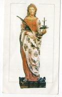 SANTINO Image Pieuse Image Religieuse Holy Card  Santa Lucia Vergine E Martire - Religion & Esotericism