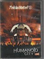DVD  Tokio Hotel En Concert  HUMANOID CITY  Etat: TTB Port 110 Gr Ou 30 Gr - Concert Et Musique