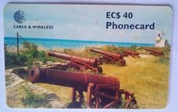 Ft James EC$40    Chip Card - Antigua And Barbuda