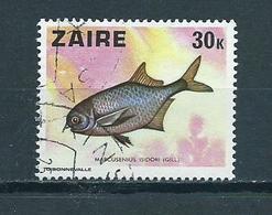 1978 Zaïre Vissen,fish,poisson Used/gebruikt/oblitere - Zaire