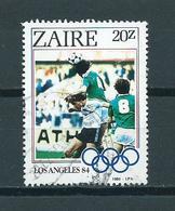 1984 Zaïre Olympic Games Los Angeles Used/gebruikt/oblitere - Zaïre