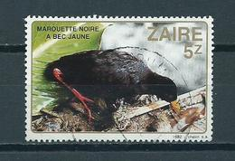 1982 Zaïre Bird,oiseaux,vögel Used/gebruikt/oblitere - Zaïre