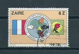 1982 Zaïre Conference Used/gebruikt/oblitere - Zaïre