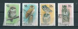 1987 Zimbabwe Complete Set Birds,oiseaux,vögel,birds Of Prey Used/gebruikt/oblitere - Zimbabwe (1980-...)
