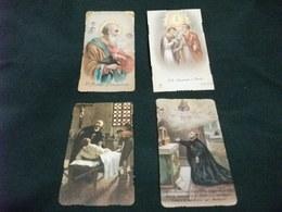 SANTINO LOTTO 4 SANTINI S. MATTEO S. GIOVANNI E PAOLO S. CAMILLO DE LELLIS 2 PEZZI DIFFERENTI - Religione & Esoterismo
