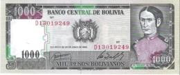 Bolivia - Pick 167 - 1000 Pesos Bolivianos 1982 - Unc - Bolivie
