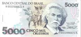 Brazil - Pick 232c - 5000 Cruzeiros 1993 - Unc - Brésil