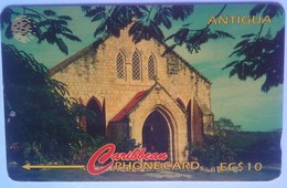 18CATC Gilberts Memorial Methodist EC$10 - Antigua En Barbuda