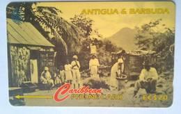 54CATC  Rural Antigua Family EC$20 No Slash C/n - Antigua En Barbuda