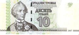 Transnistria - Pick 44 - 10 Rublei 2007 - Unc - Banconote