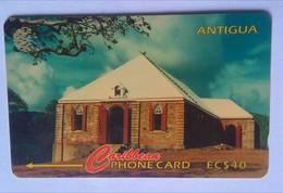 18CATH Gracebay Moravian EC$40 - Antigua En Barbuda