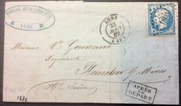 PL144 Haute Saône Lure «Après Le Départ» «Schwob» - 1849-1876: Période Classique
