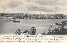 ¤¤  -  AUSTRALIE   -  SYDNEY From Lavender Bay    -  ¤¤ - Sydney