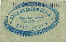 Luxembourg Ettelbruck Hotel Du Chemin De Fer - Cartes Postales