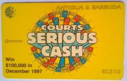186CATA Courts Serous Cash - Antigua And Barbuda