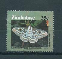 1986 Zimbabwe Vlinder,papillon,butterfly Used/gebruikt/oblitere - Zimbabwe (1980-...)