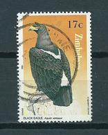 1984 Zimbabwe Eagle,birds Of Prey Used/gebruikt/oblitere - Zimbabwe (1980-...)