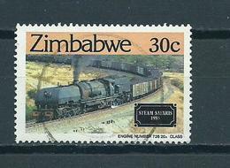 1985 Zimbabwe Railways,train,treinen 30 Cent Used/gebruikt/oblitere - Zimbabwe (1980-...)