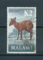 1971 Malawi Red Dunker K2 Used/gebruikt/oblitere - Malawi (1964-...)