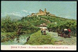 RA930 DINTORNI DI FIRENZE - LA  CERTOSA FIORENTINA ( RETRO INDIVISO ) - Firenze