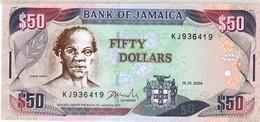 Jamaica - Pick 79e - 50 Dollars 2004 - Unc - Giamaica